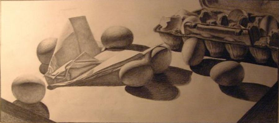 Crash Landing Drawing