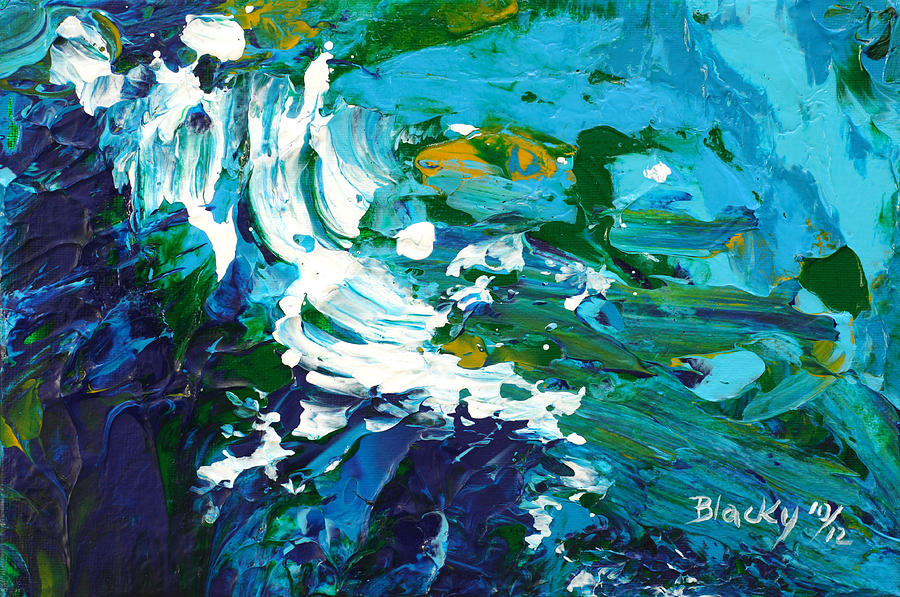 Crashing Wave Painting