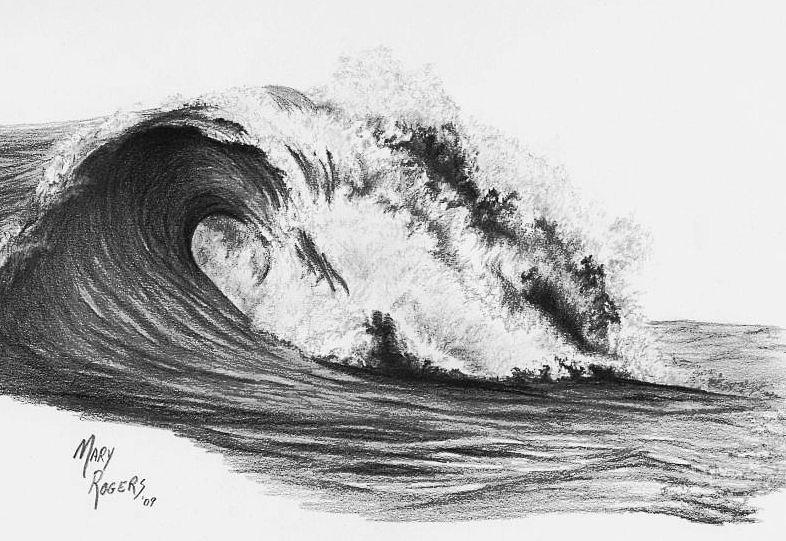 How To Draw Ocean Waves Images