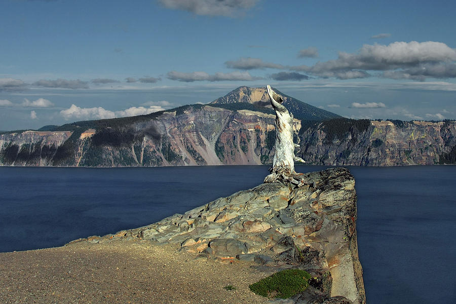 Crater Lake - A Most Sacred Place Among The Indians Of Southern Oregon Photograph