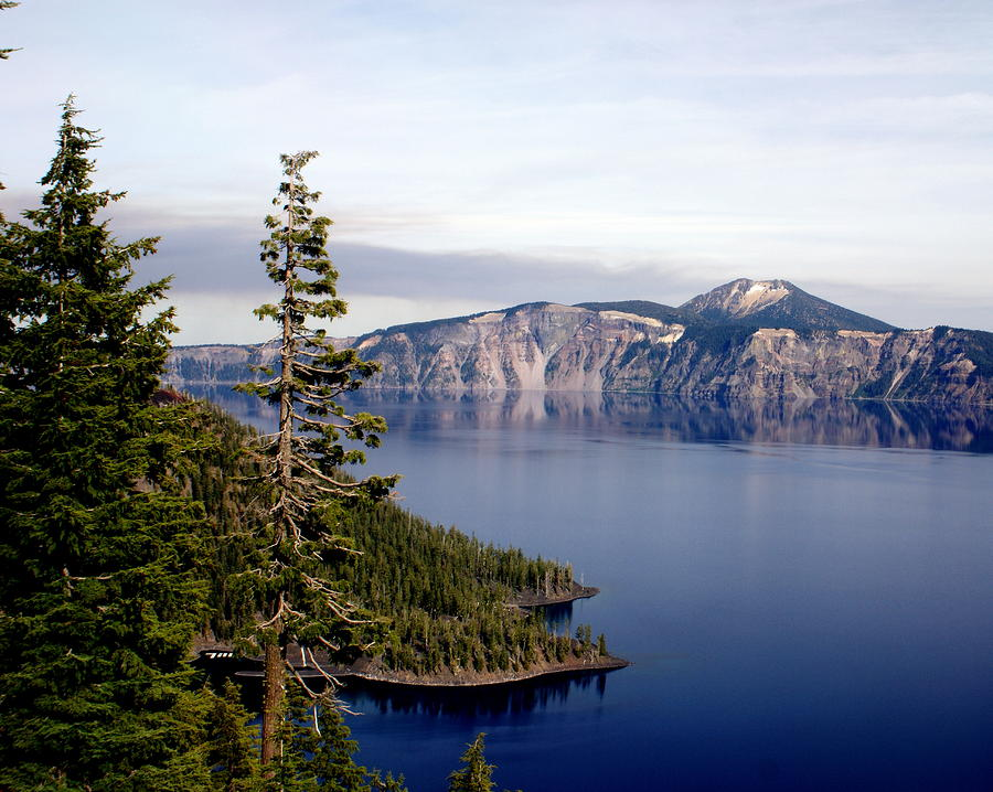 Crater Lake 3 Photograph  - Crater Lake 3 Fine Art Print
