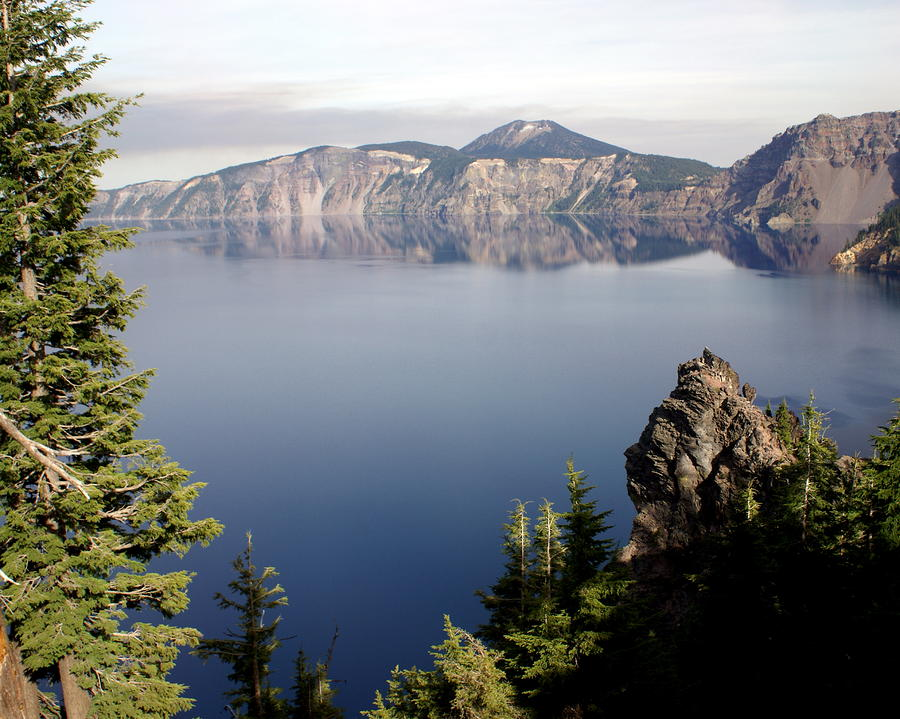 Crater Lake 5 Photograph  - Crater Lake 5 Fine Art Print