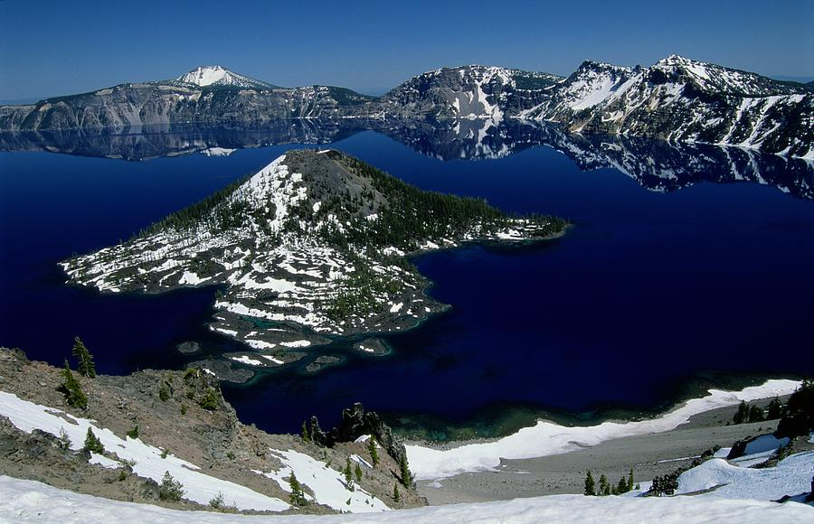 Crater Lake National Park, Oregon Photograph
