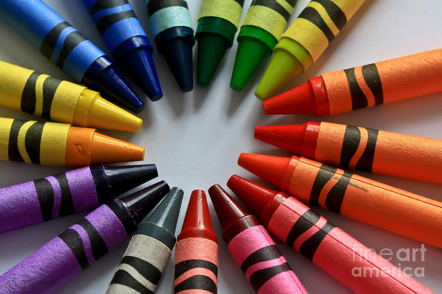 Crayola Color Photograph