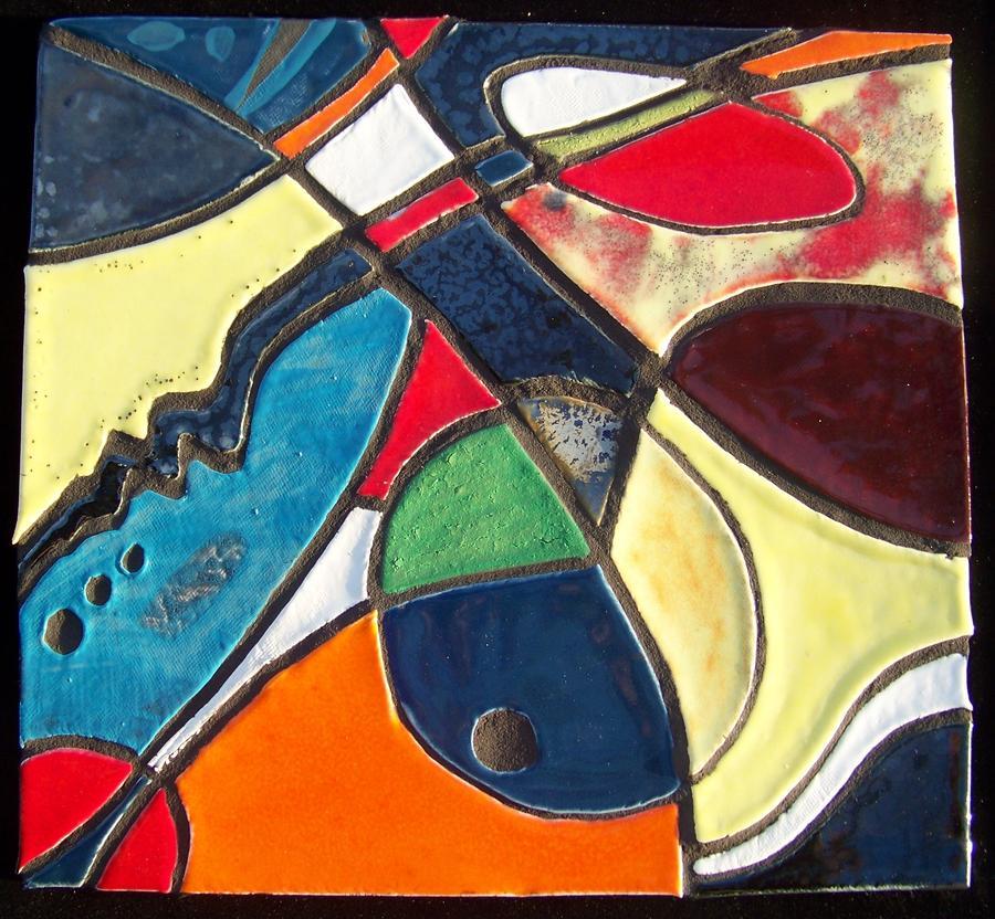 Ceramic Art - Creatia 1 by Reginald Charles Adams