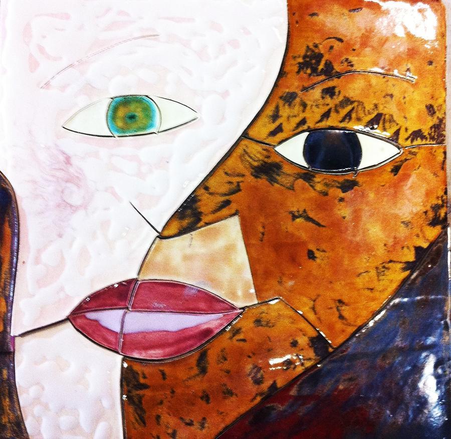 Ceramic Art - Creatia 4 by Reginald Charles Adams