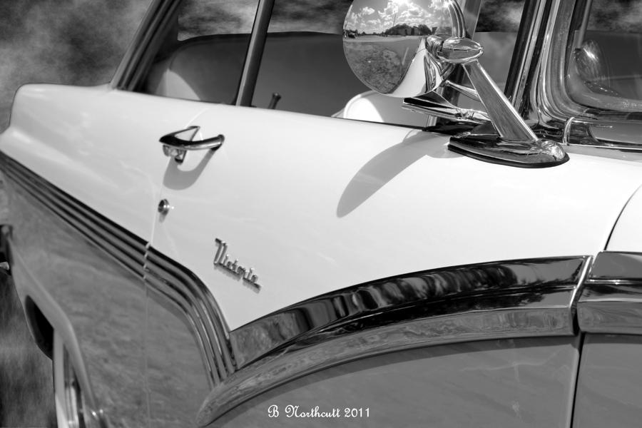 Creative Chrome - 1956 Ford Fairlane Victoria Photograph