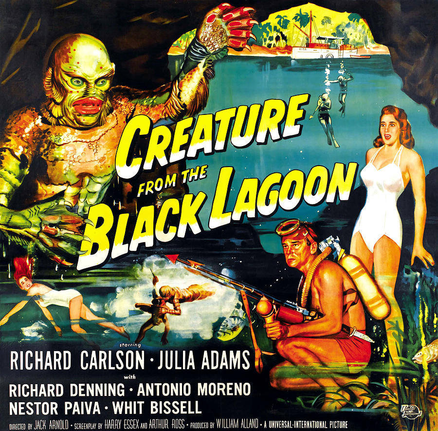 Creature From The Black Lagoon Photograph  - Creature From The Black Lagoon Fine Art Print