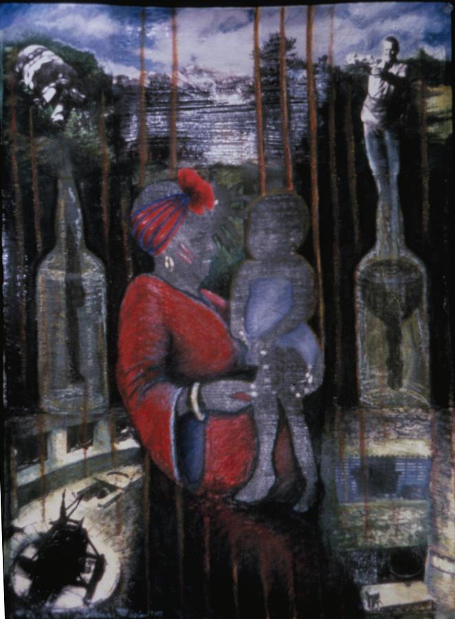 Creole Shekhinah Painting