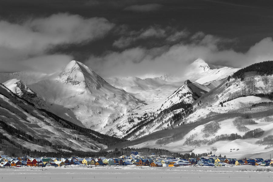 Crested Butte Winter Fantasy Photograph