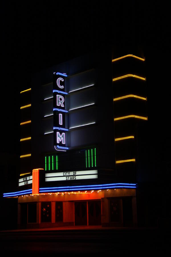 Crim Theater Photograph