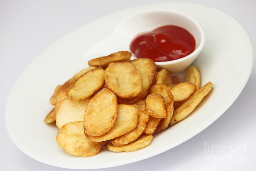 Crisps With Ketchup is a photograph by PhotoStock-Israel which was ...