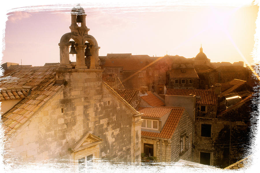 Croatia Dubrovnik Cityscape And Architecture Photograph  - Croatia Dubrovnik Cityscape And Architecture Fine Art Print