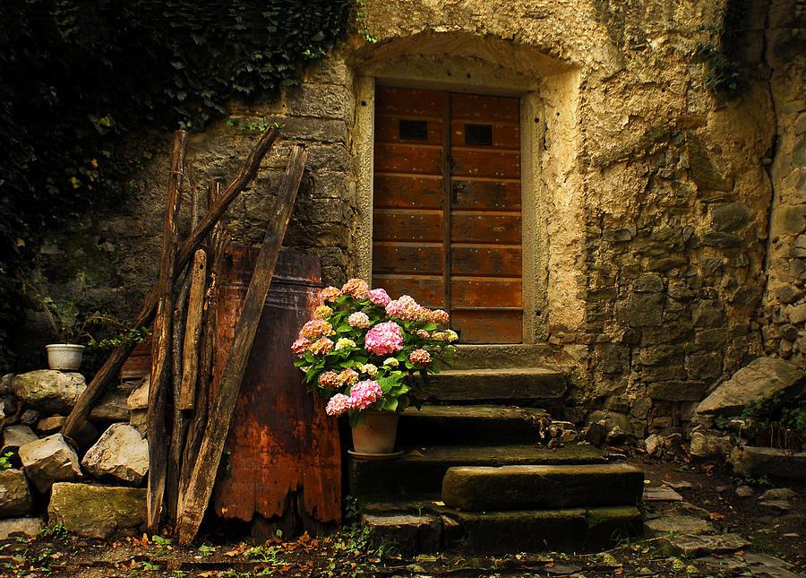 Croatian Stone House Photograph