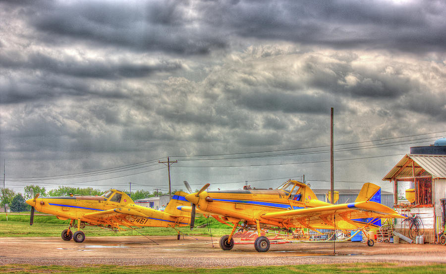 Crop Duster 003 Photograph  - Crop Duster 003 Fine Art Print