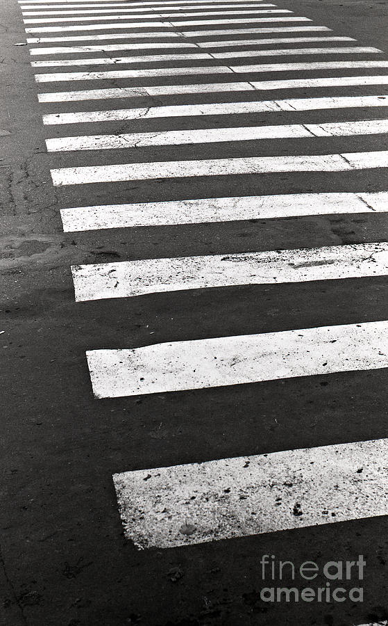 Cross Walk Photograph