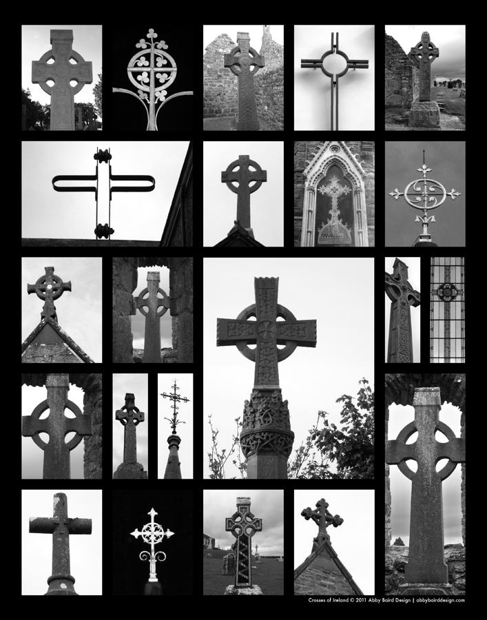 Crosses Of Ireland Photograph