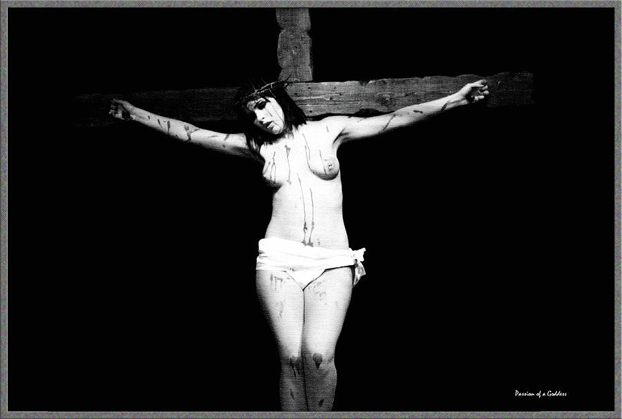 Crucifix I Digital Art  - Crucifix I Fine Art Print