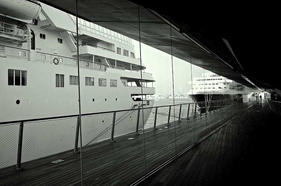 Cruise Ships Photograph