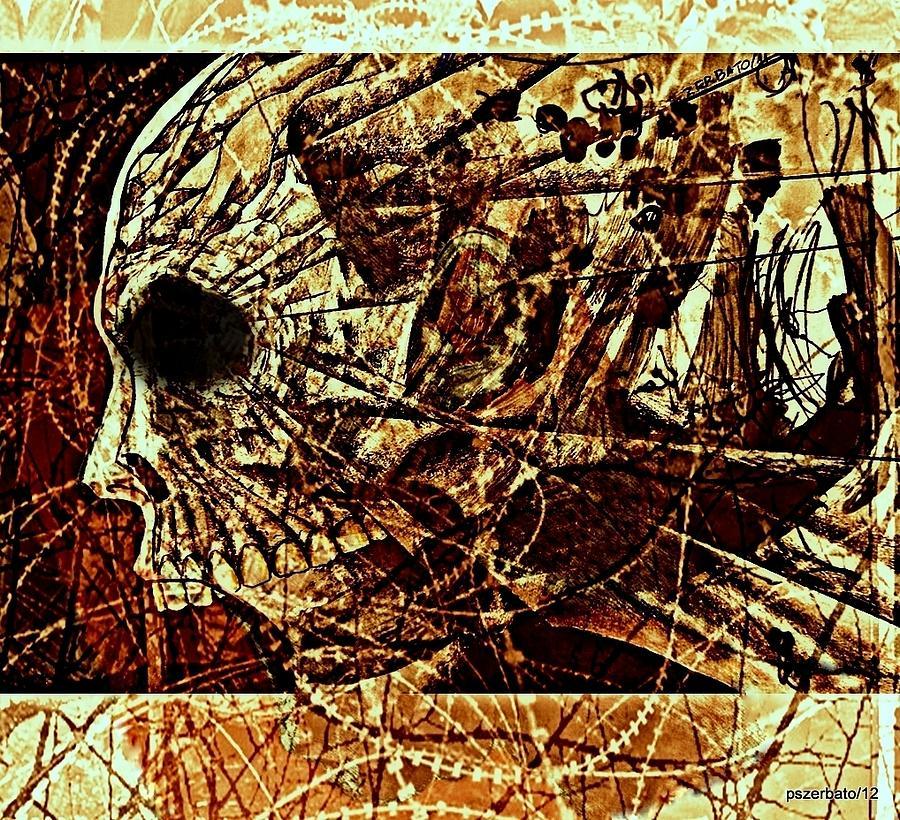 Time Passes Digital Art - Crush The Infinity Of My Despair by Paulo Zerbato