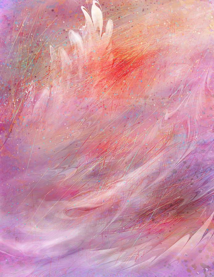 Fantasy Painting - Cry Of A Bird by Rachel Christine Nowicki