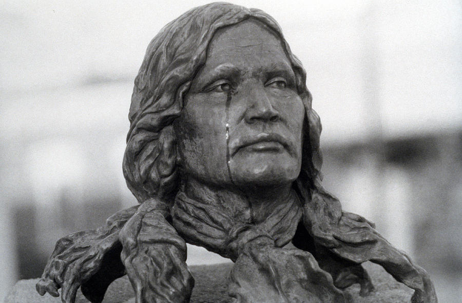 Crying Chief Niwot  Photograph