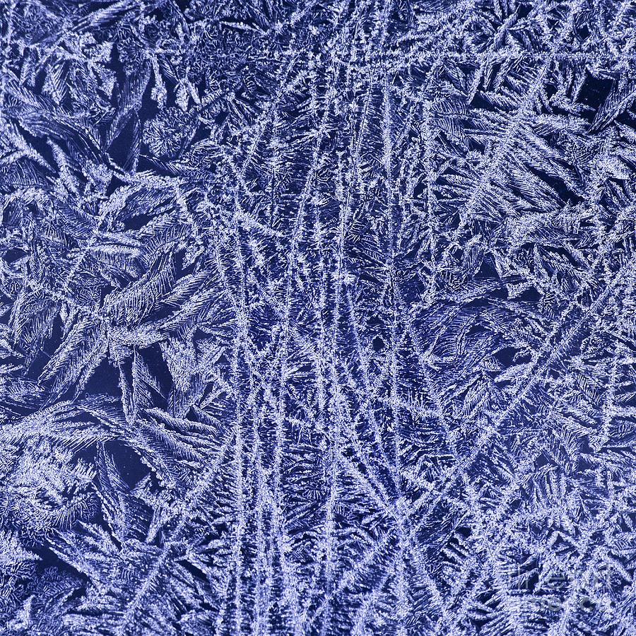 Ice Photograph - Crystal 2 by Sabine Jacobs