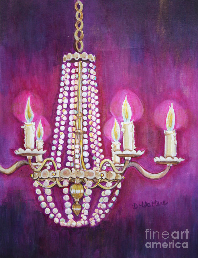 Watch more like Chandelier Painting – Painting of Chandelier