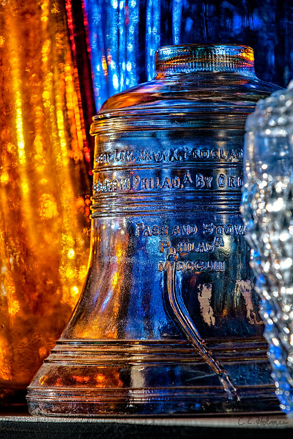Crystal Liberty Bell Photograph  - Crystal Liberty Bell Fine Art Print
