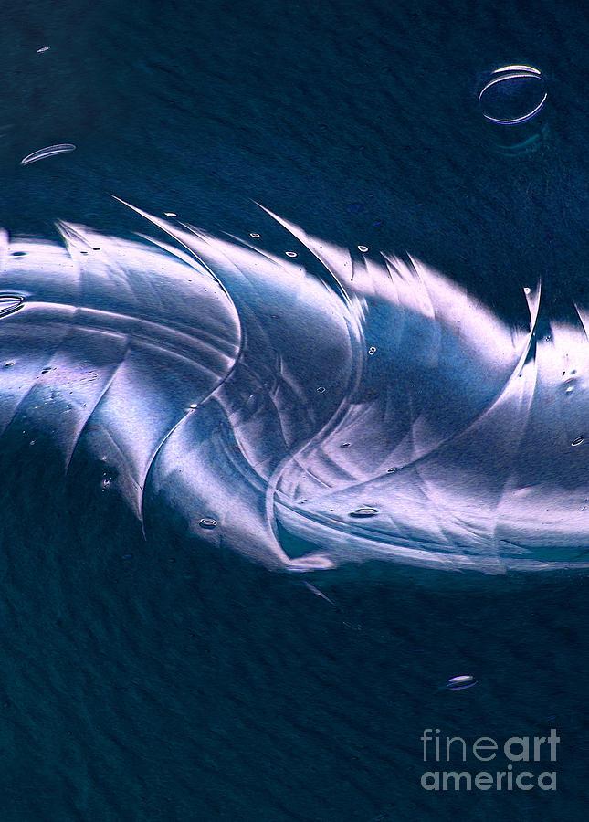 Crystalline Entity Digital Art - Crystalline Entity Panel 2 by Peter Piatt