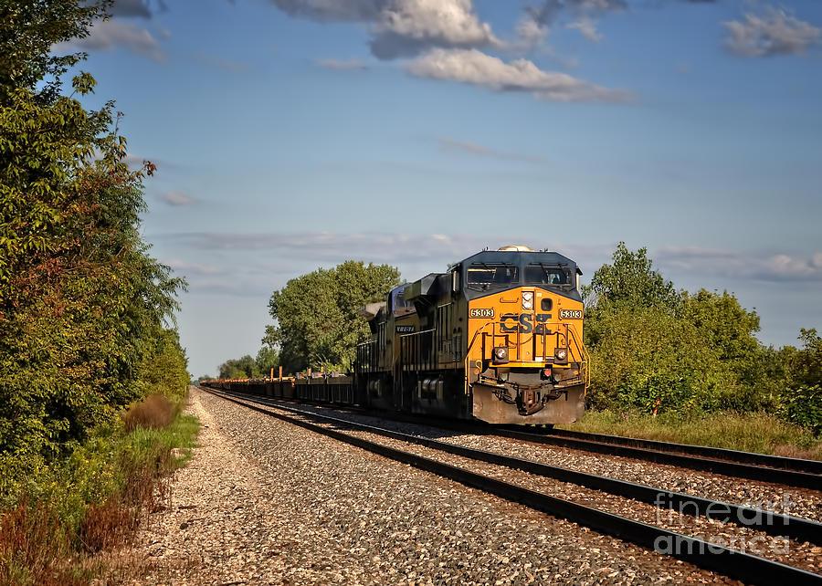 photograph csx train2650 by - photo #12