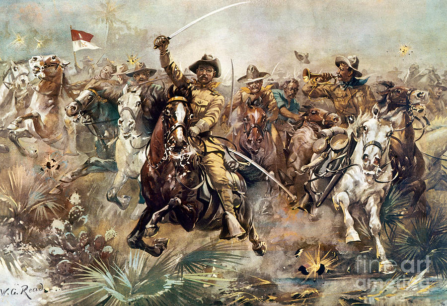 Cuba: Rough Riders, 1898 Photograph