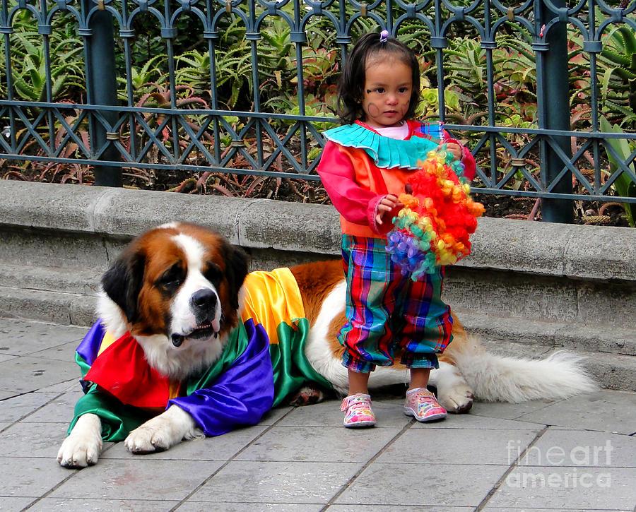 Al Bourassa Photograph - Cuenca Kids 124 by Al Bourassa