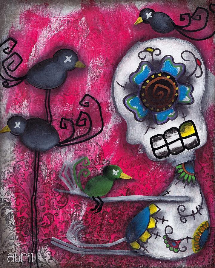 Cuervos Painting