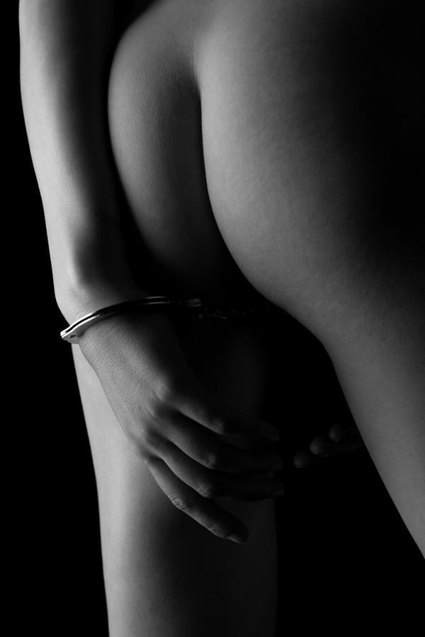 Cuffed To The Rear Photograph