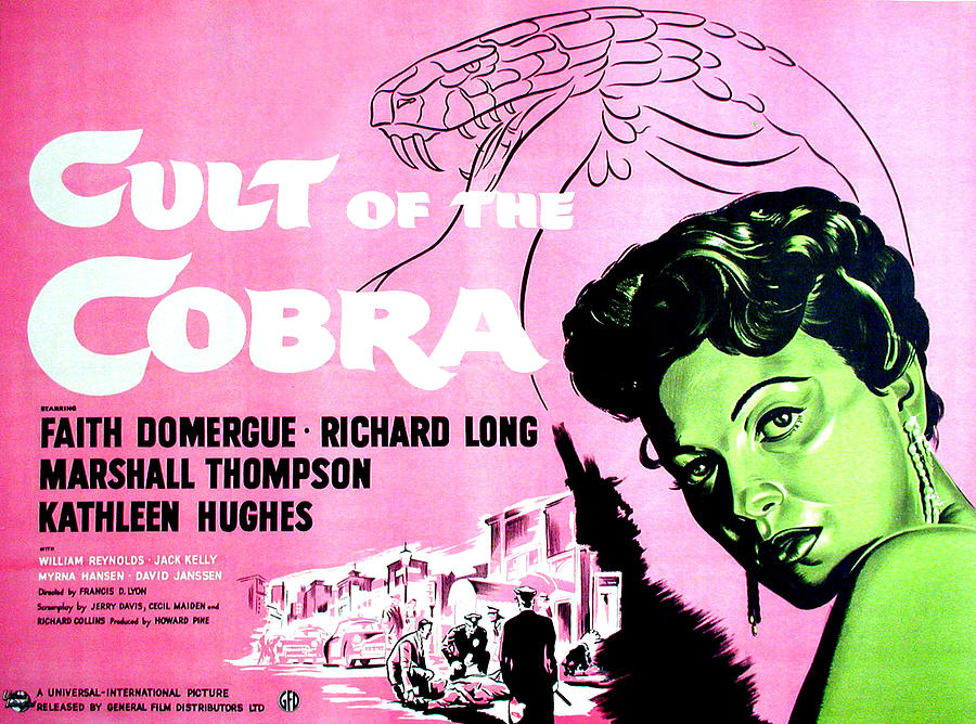 Cult Of The Cobra, Faith Domergue Photograph  - Cult Of The Cobra, Faith Domergue Fine Art Print
