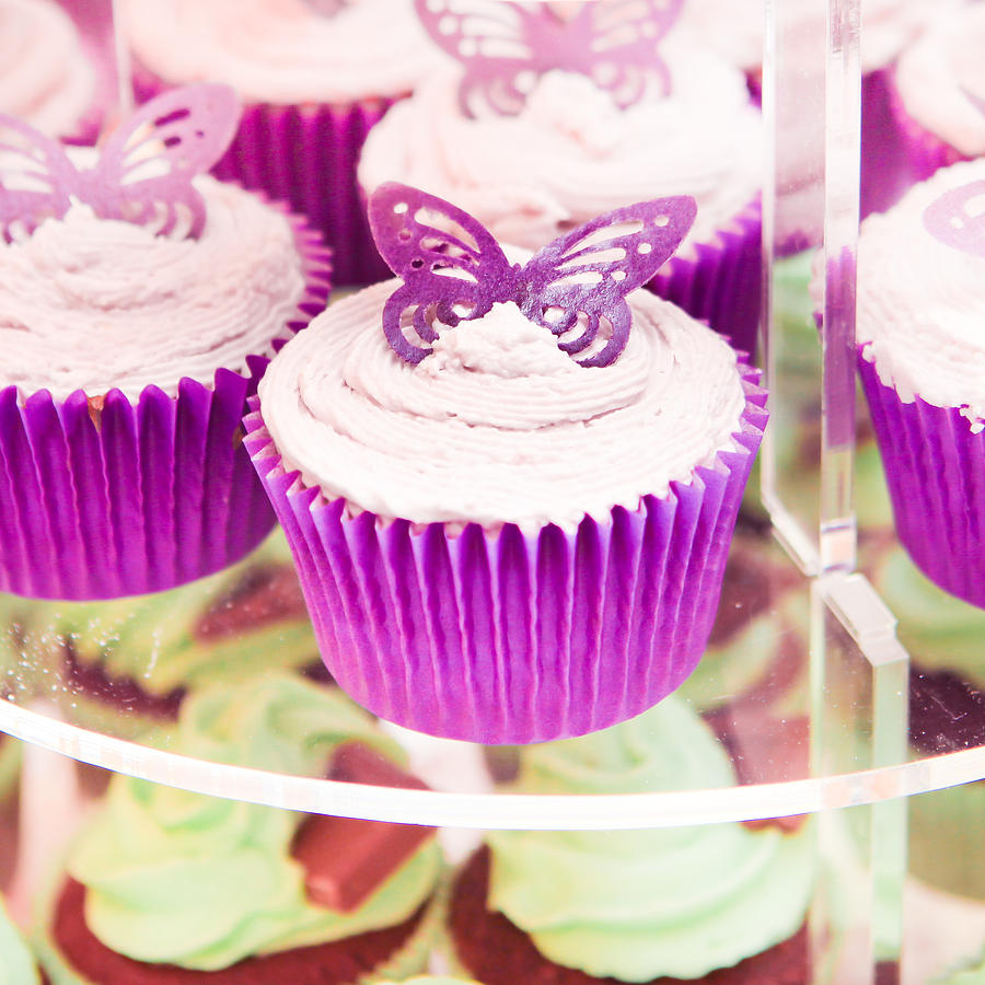 Cup Cakes Photograph