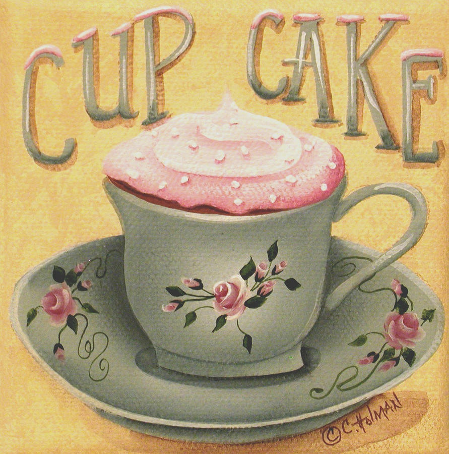 Cake Art Mo : Cup Of Cake by Catherine Holman