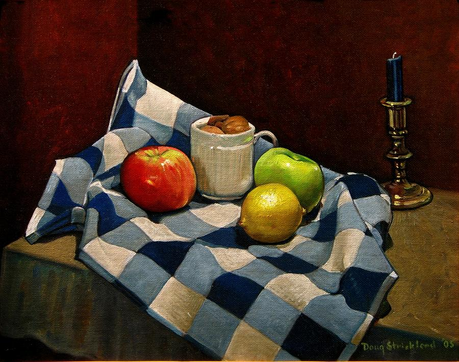 Cupboard Still Life Painting  - Cupboard Still Life Fine Art Print