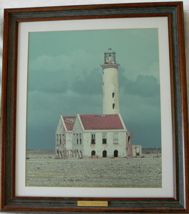 Lighthouse Photograph - Curacao Lightouse by Steven Mendal