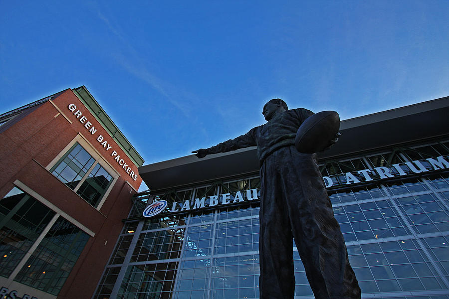 Curly Lambeau Photograph  - Curly Lambeau Fine Art Print