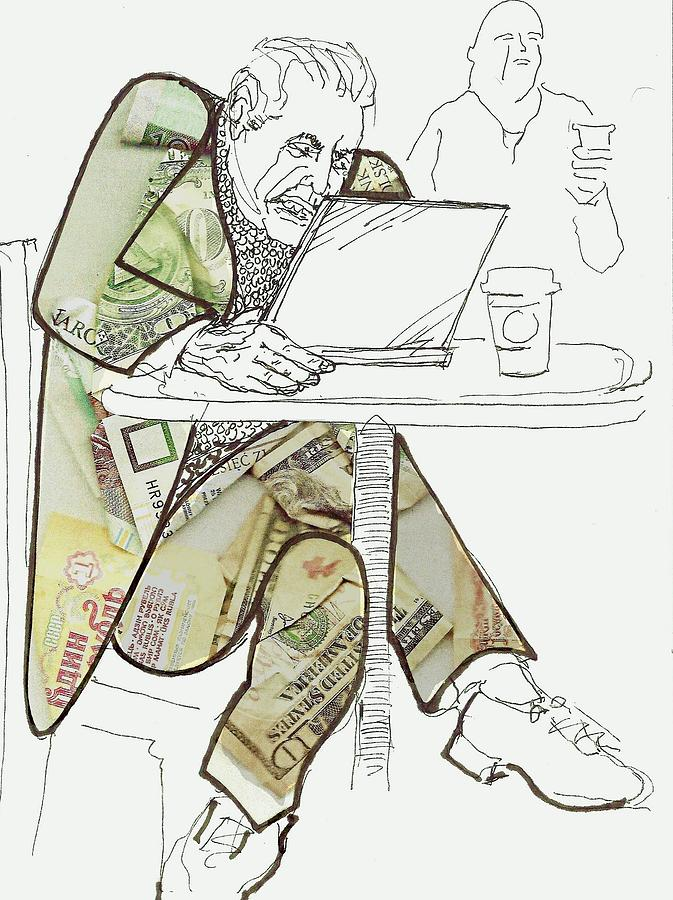 Currency Trader Drawing