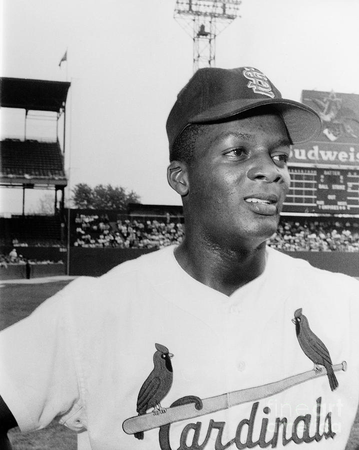 Curt Flood (1938- ) Photograph