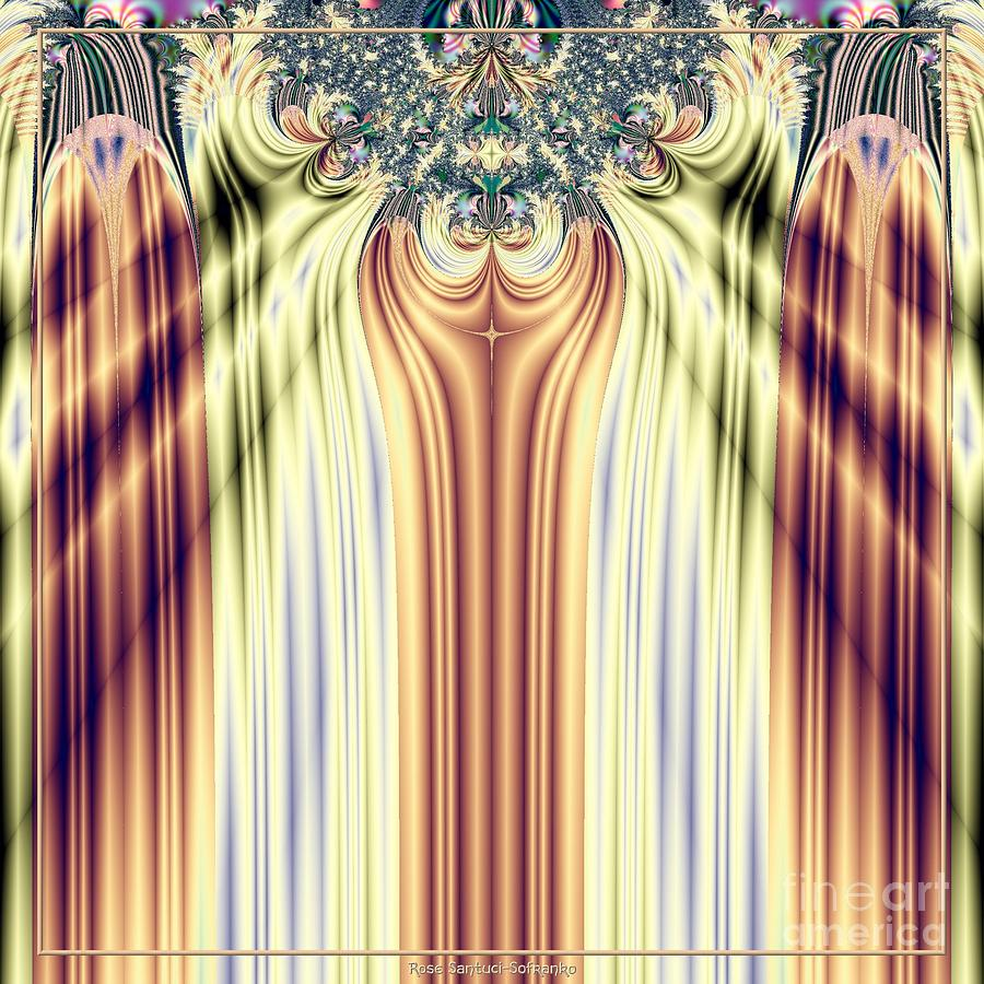 Curtain Call Spotlights Fractal 133 Digital Art