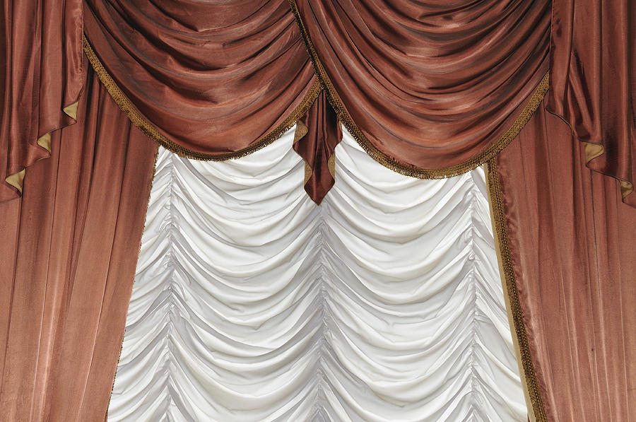 Curtain Photograph  - Curtain Fine Art Print