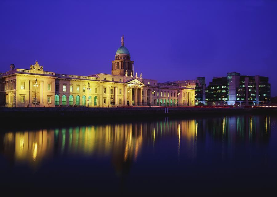 Custom House, Dublin, Co Dublin Photograph