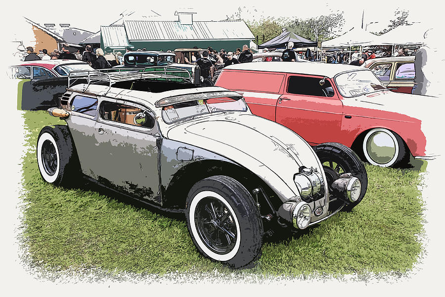 Custom Vw Bug Photograph  - Custom Vw Bug Fine Art Print