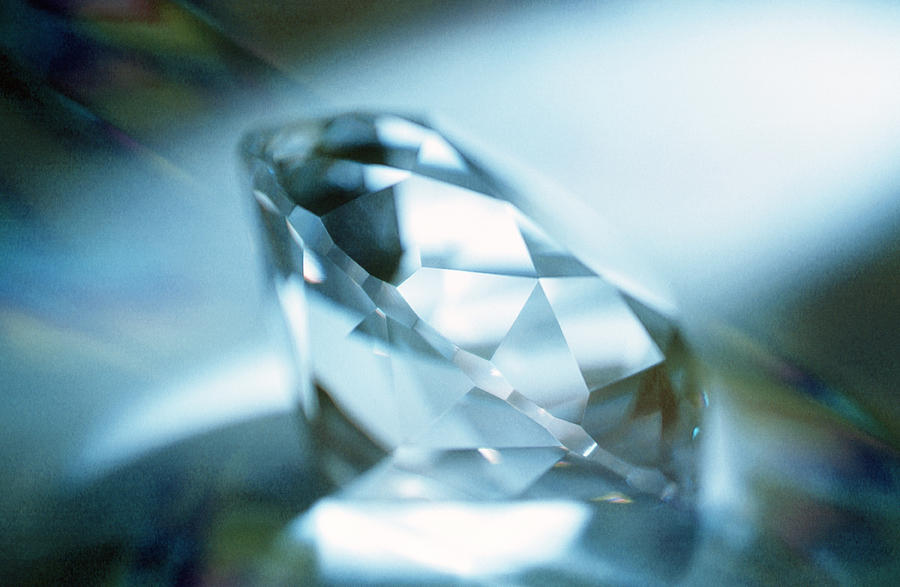 Cut Diamond Photograph