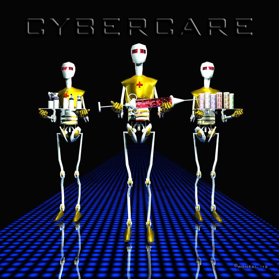 Cybercare Digital Art