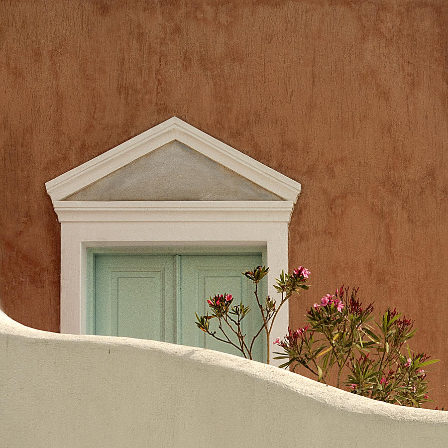 Cycladic Architecture Photograph